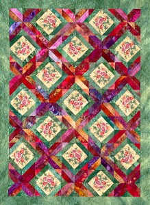 Patterns - Garden Trellis Digital Quilt Pattern